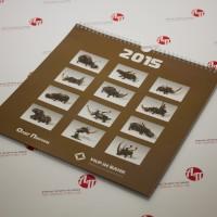 Настенный календарь УкрИнБанка с работами Олега Пинчука